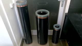 Обзор инфракрасной нагревательной пленки In-Therm 0,5, 0,8, 1,0 м