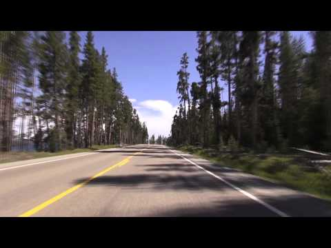 Yellowstone Grand Loop Part 5 -Lake Yellowstone Hotel to Old Faithful Lodge