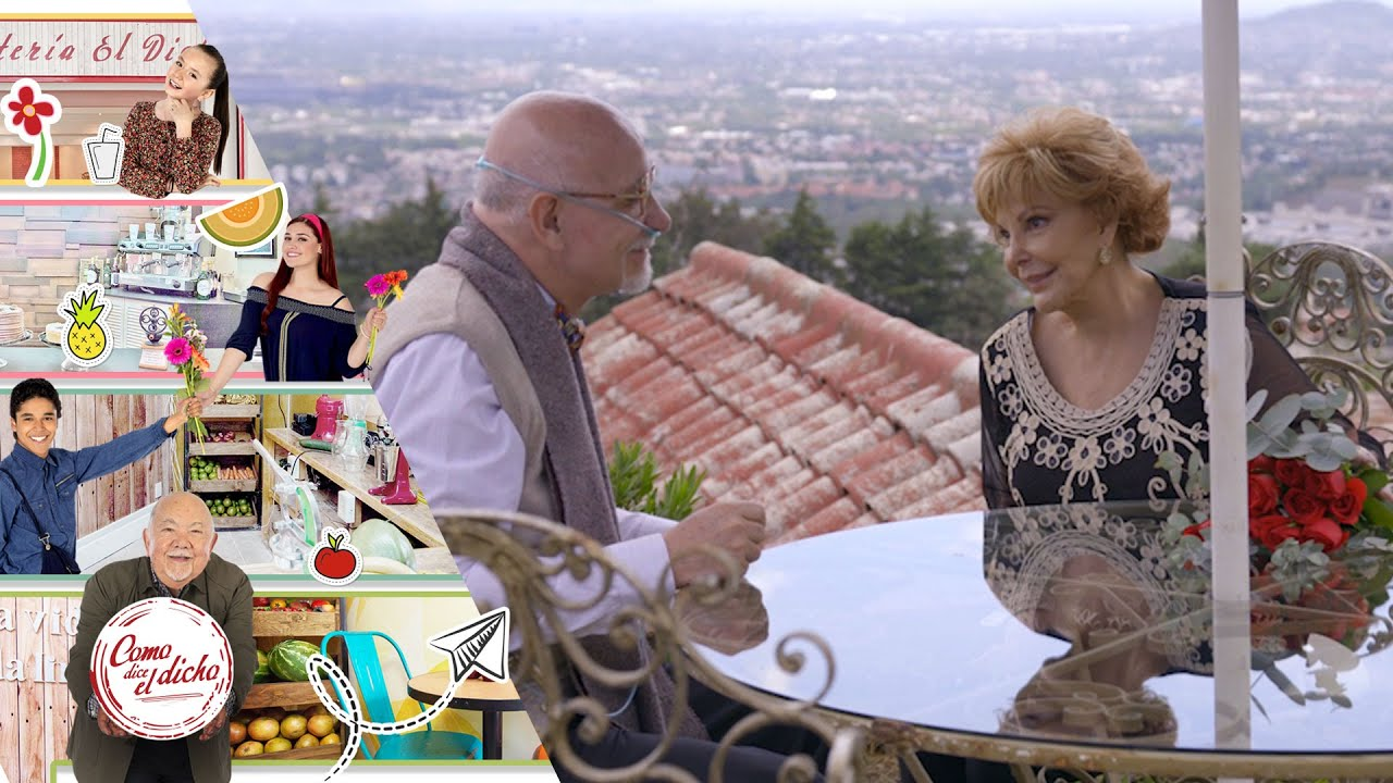 Don Raúl se reencuentra con el amor de su vida | Buen amor... | Como dice el dicho