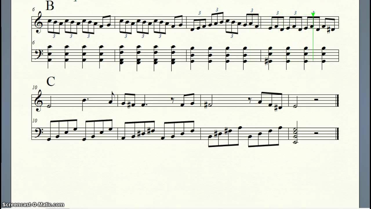 Ternary musical form (A-B-C) - YouTube