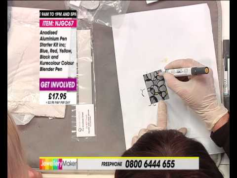 Get Started with Anodised Aluminium | JewelleryMaker