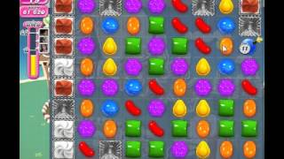How to beat Candy Crush Saga Level 144 - 1 Stars - No Boosters - 112,700pts