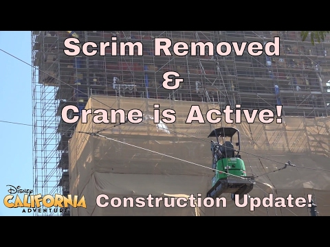 Guardians Tower Construction Update | Crane Lifts Excavator & More Scrim Removed!