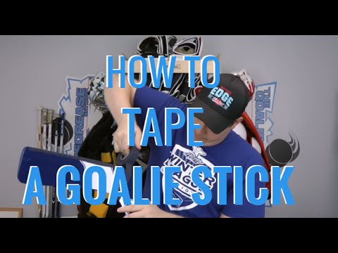 How to Tape a Hockey Goalie Stick (and Other Great Stick Tips!)