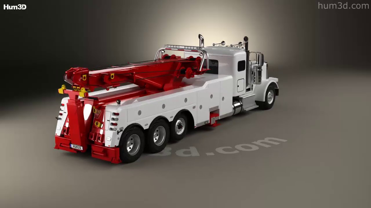 Peterbilt 388 wrecker truck 2014 3d model by hum3d youtube peterbilt 388 wrecker truck 2014 3d model by hum3d sciox Image collections
