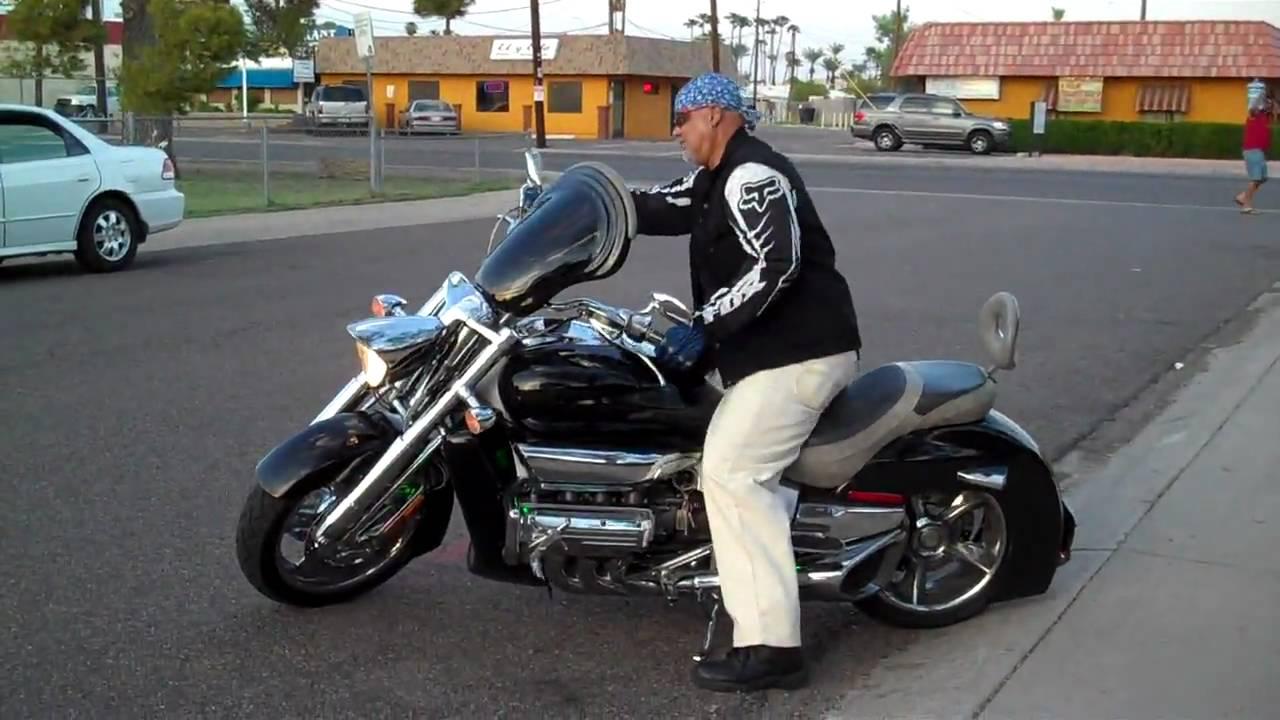 Caspa's Honda Rune Motorcycle Wednesday September 2nd 2009 - YouTube