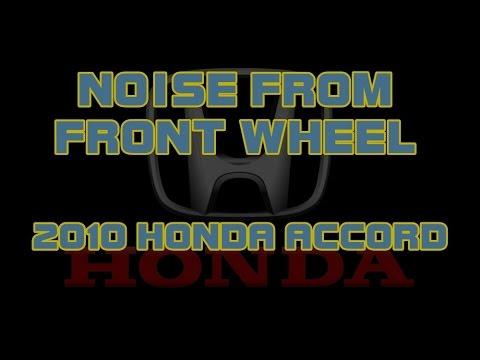 ⭐ 2010 Honda Accord - Front Wheel Noise - Squealing - 559KING