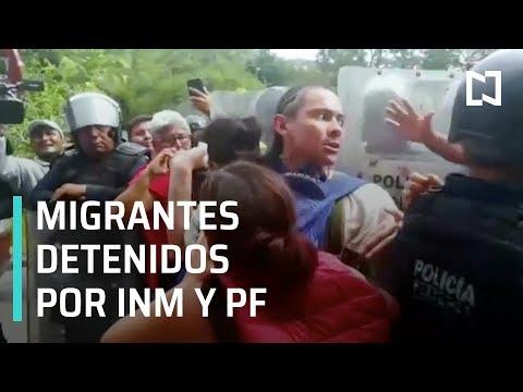 Quinta Carvana Migrante de Honduras es detenida en Chiapas - En Punto con Denise Maerker