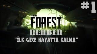 THE FOREST REHBERİ | BÖLÜM 1 | İLK GECE HAYATTA KALMAK VE OYUN HAKKINDA