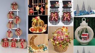 10 Jute craft Christmas decorations ideas 🎄
