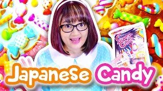 Trying Japanese Candy & Snacks! | Candysan