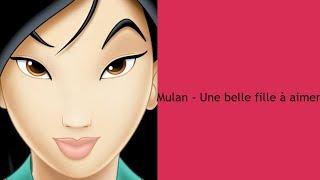 Mulan - Une belle fille à aimer - Paroles