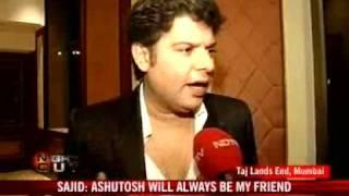 Sajid, Ashutosh's public spat