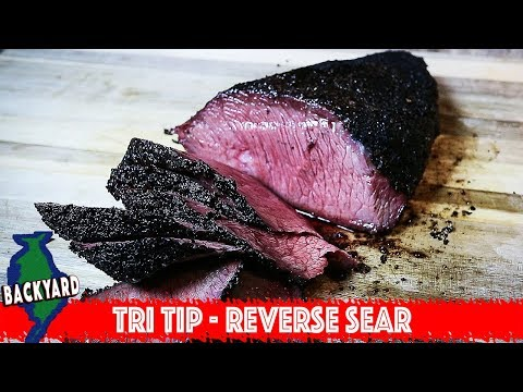 How To Cook A Perfect Tri Tip Steak With Reverse Sear On A Pellet Grill