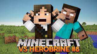Minecraft VS Herobrine #8: Querem colocar fogo no meu gato!!!