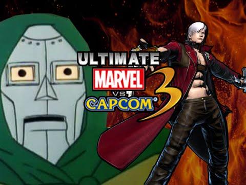 DANTE GOES NUTS! Ultimate Marvel Vs. Capcom 3 - Online Matches