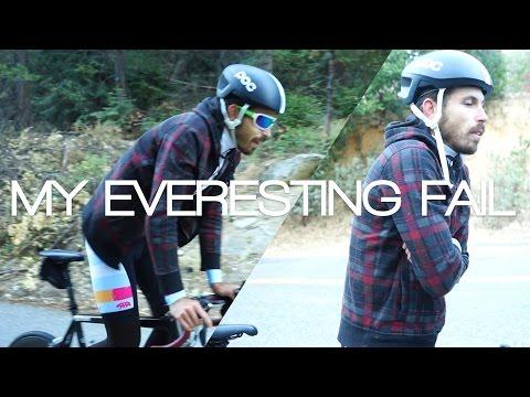 My Everesting on a Bike Fail (A Cycling Story/Documentary)