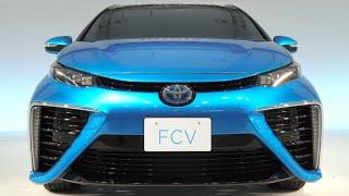 2015.7.1岡山トヨペット本社に世界初のセダン型燃料電池自動車の量産モ...