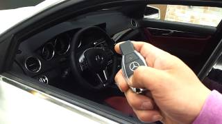 BENZ C63 AMG XPRESS START 순정리모…