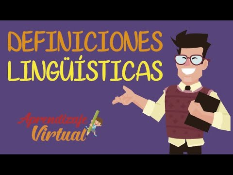 DEFINICIONES LINGUISTICAS |