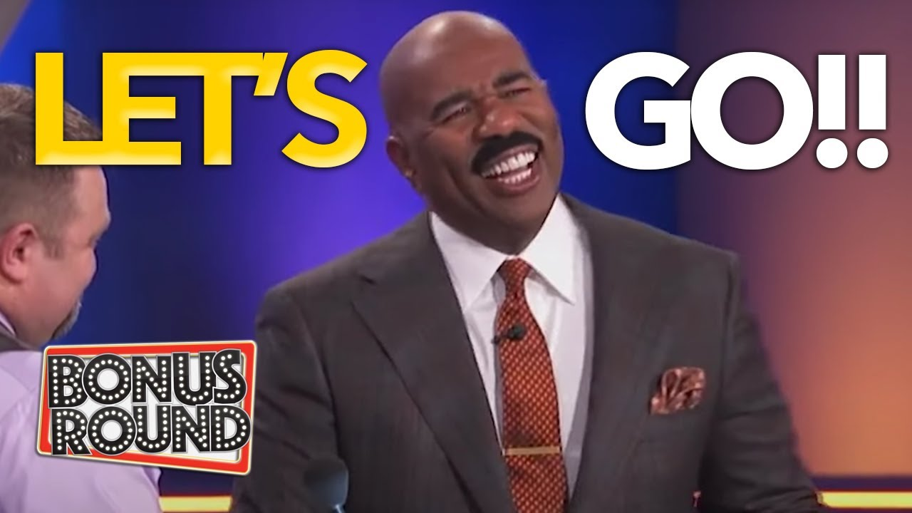 STEVE HARVEY LOVES Hearing THESE FUNNY ANSWERS On Family Feud USA
