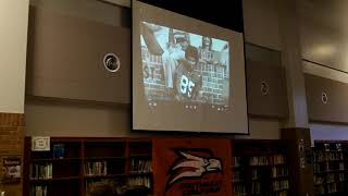 Video Fred Whitfield jersey retirement ceremony at Southeast Guilford HS 1/15/18 download MP3, 3GP, MP4, WEBM, AVI, FLV Agustus 2018