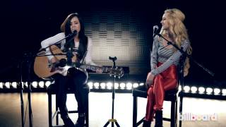 "Megan & Liz - ""Release You"" LIVE Billboard Studio Session"