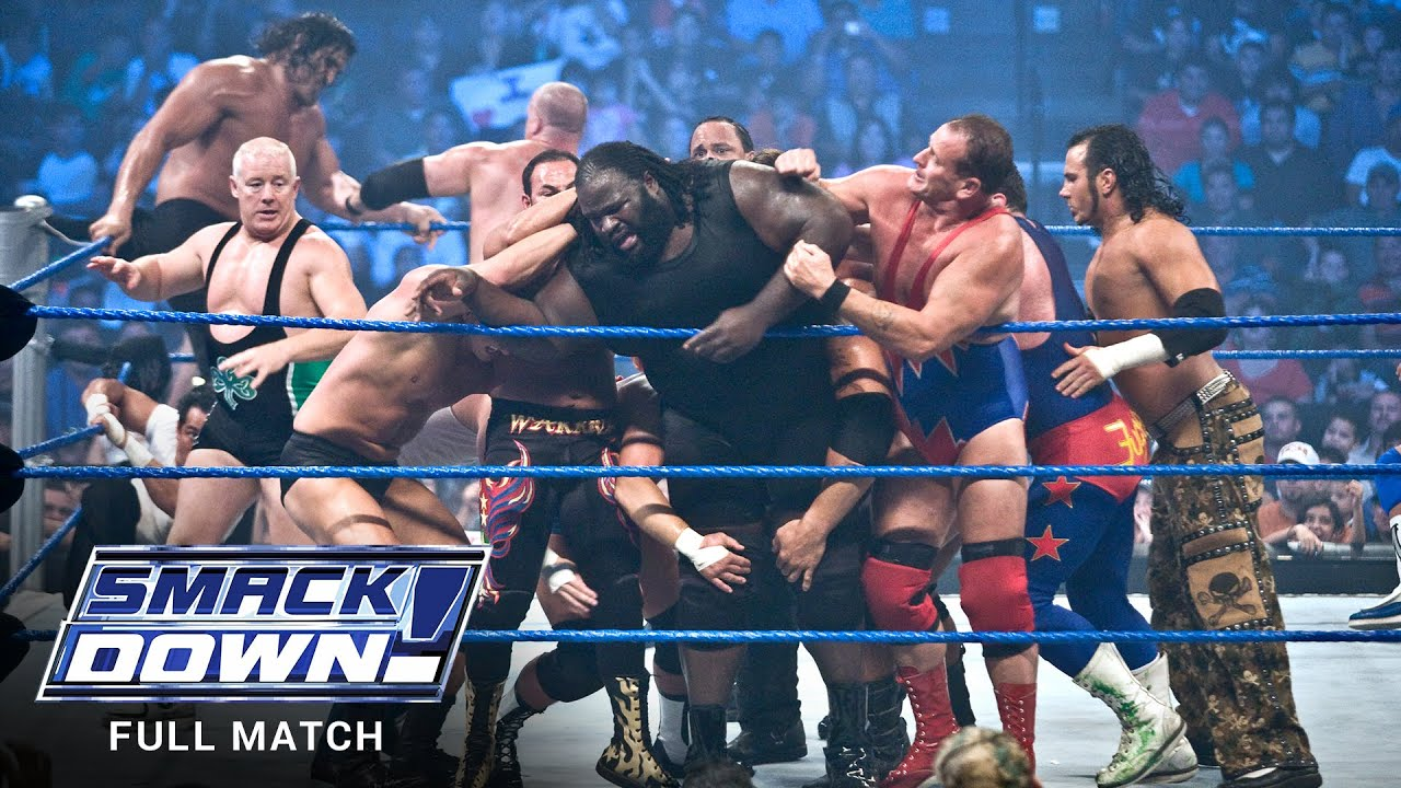 Download FULL MATCH - World Heavyweight Title 20-Man Battle Royal: SmackDown, July 20, 2007