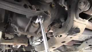 Toyota 4Runner front differential oil change