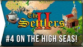 The Settlers 2 ► #4 On the High Seas - Roman Campaign & Retro RTS City-building Gameplay!