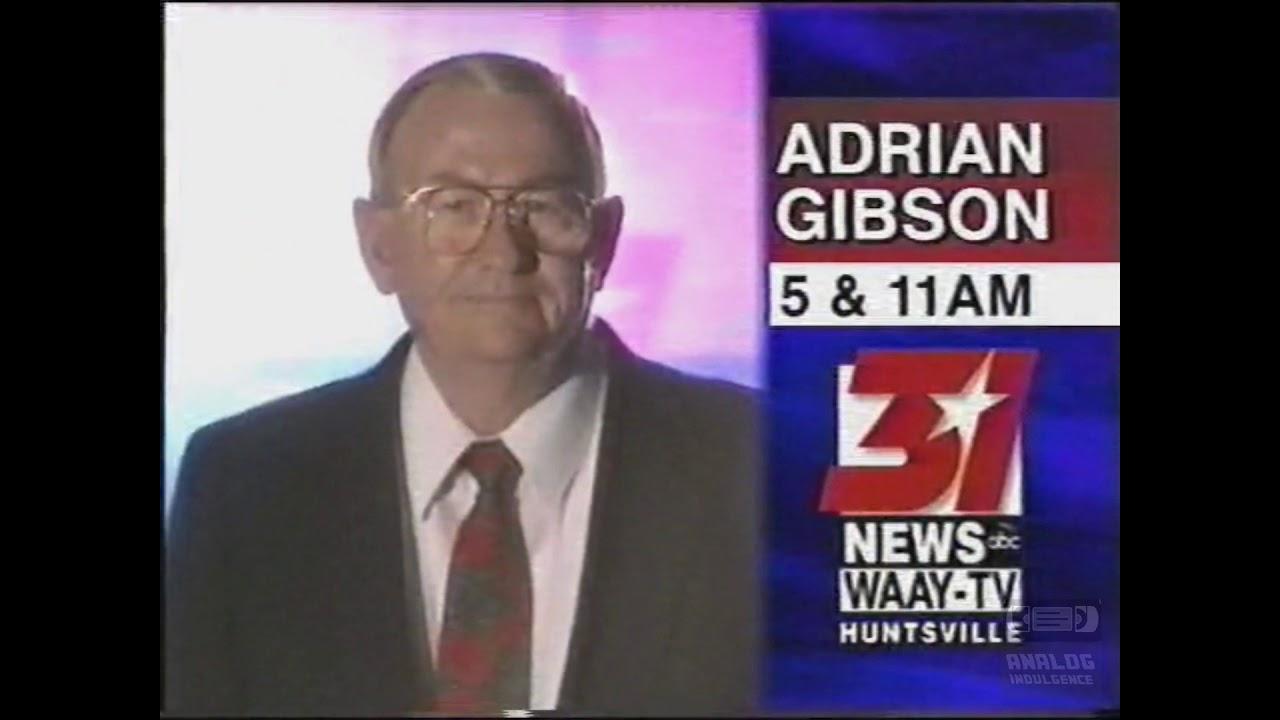 Adrian Gibson   WAAY 31   ABC   Bumper   1999