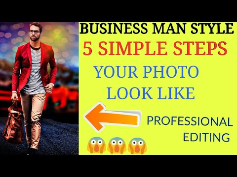 PROFESSIONAL BUSINESS MAN EDITING MAN AND POSE & Style 😱 WATCH NOW🔥🔥