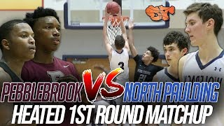 PEBBLEBROOK & NORTH PAULDING go BUCKET for BUCKET in HEATED 1ST ROUND MATCHUP