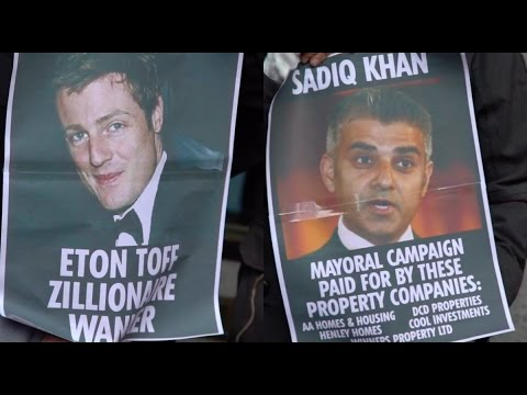 """Zac Goldsmith, Sadiq Khan advised by private property company on housing"""