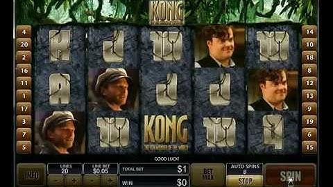 King Kong Online Slots Game at Casino.com