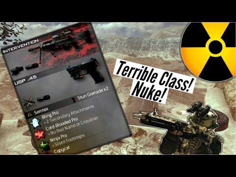 TERRIBLE Class Nuke Challenge Modern Warfare 2...
