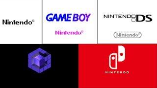 Every Nintendo Startup Screen (NES, N64, Gamecube, Wii U, Sw...