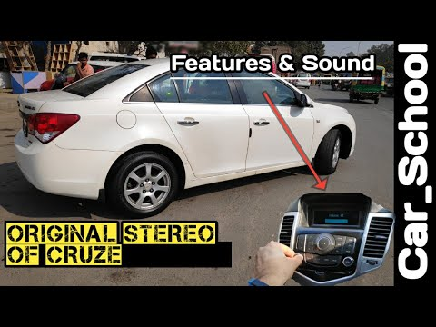 Chevrolet Cruze Company Fitted Stereo| Cruze Ratio | Sound Quality Test & Features|#Car_School