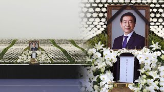 故박원순 시장 추모 행렬…오늘 오전 발인 / 연합뉴스TV (YonhapnewsTV)