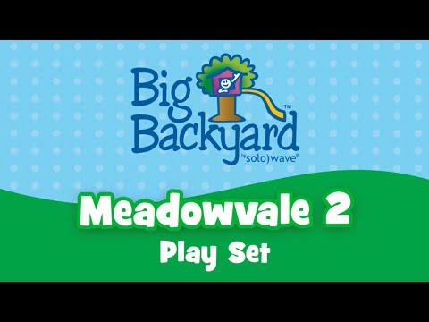 Meadowvale 2 Play Set By Big Backyard Youtube