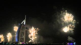 2015 burj al arab fireworks display. Happy New Year to All!!!