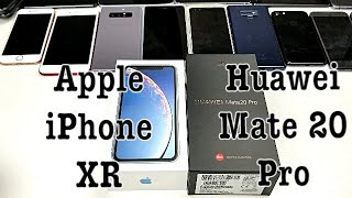 Unboxing Apple iPhone XR & Huawei Mate 20 Pro