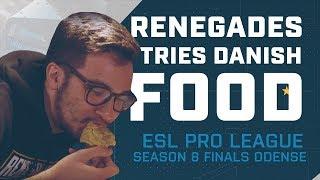 Team Renegades Tries Danish Food
