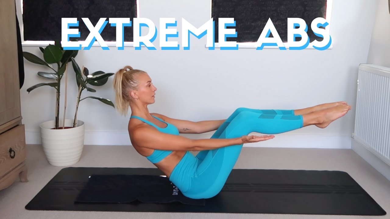 20 Minutes + 20 Exercises EXTREME Abs Workout! // No Equipment At Home Total Core Workout