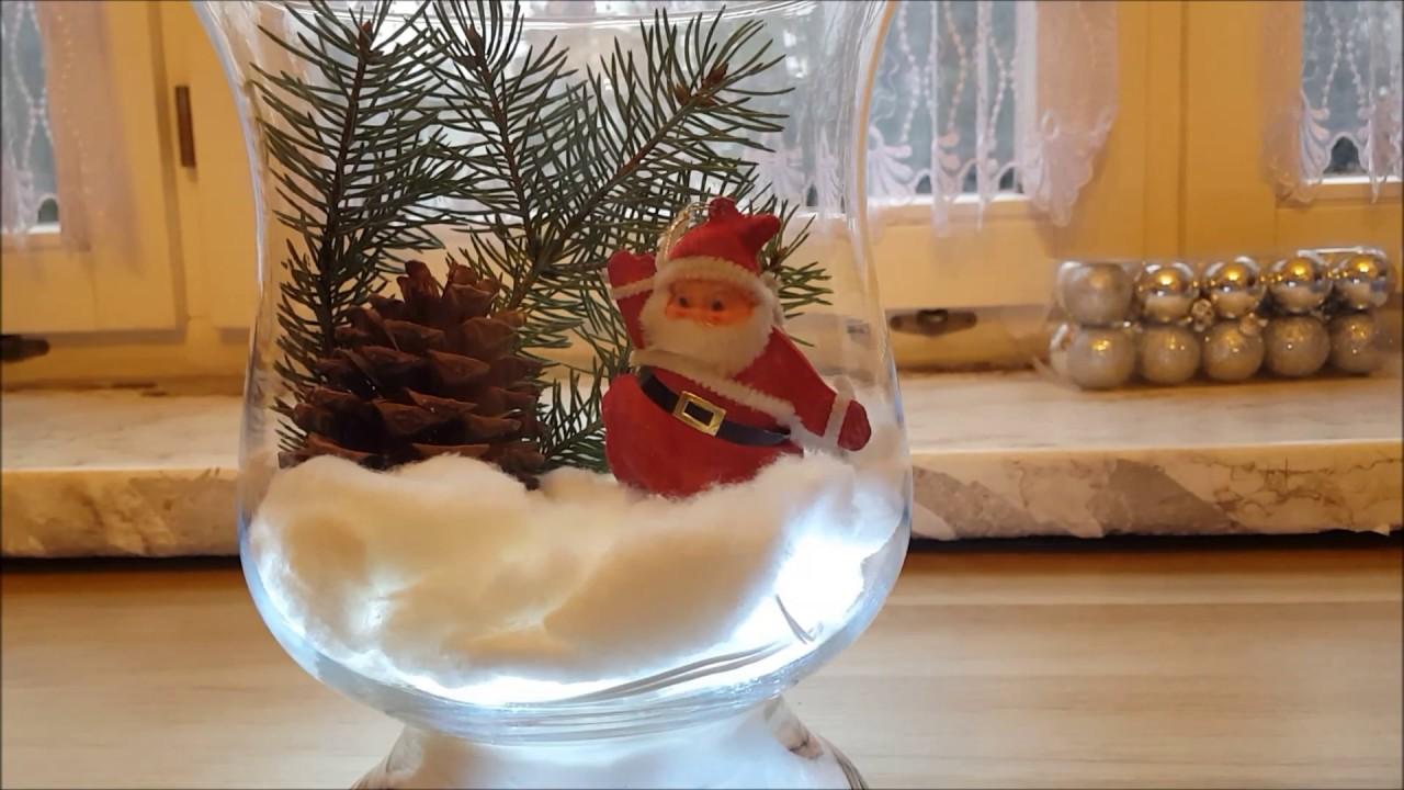 Diy Ozdoba świąteczna W Naczyniu Szklanym