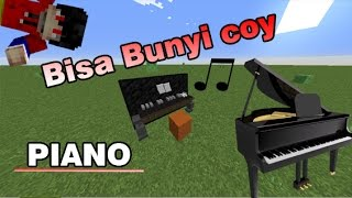Cara Membuat Piano Bunyi !! - Minecraft Indonesia