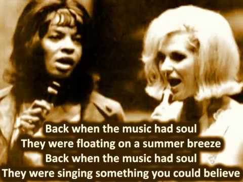 """""""Back When The Music Had Soul """"- Heartfelt tribute song to classic soul, pop and rock music !"""
