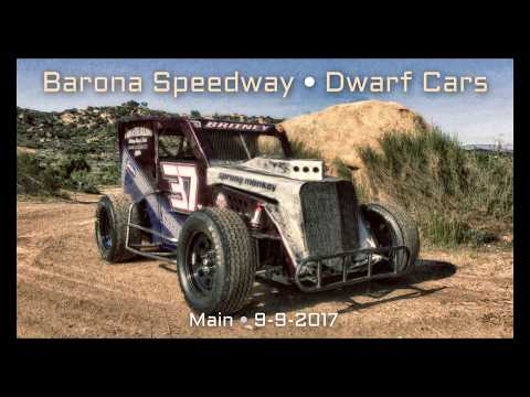 Barona Speedway Dwarf Cars Main • 9-9-2017