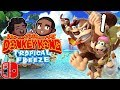 Nintendo Switch: Donkey Kong Country Tropical Freeze: 😱 JON SNOW TAKES OVER - PART 1 - Casualverse