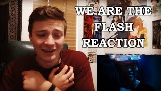 THE FLASH - 4X23 WE ARE THE FLASH REACTION